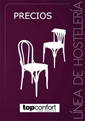 silla curvada precios