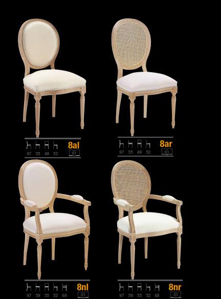 sillas clasicas de haya